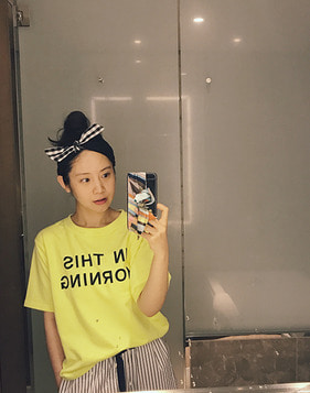 *30% 쿠폰 발급* [shortbutstunning™]S-52 easy home wear T-shirt