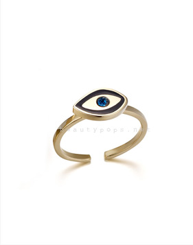 [Bitter Sweet]Z-4 Small evil eye ring