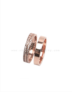 [Bitter Sweet]Z-57 Two line cubic ring