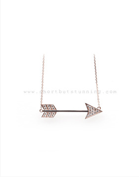 [Bitter Sweet]Z-64 Arrow necklace