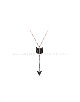 [Bitter Sweet]Z-73 Hanginglong arrow necklace