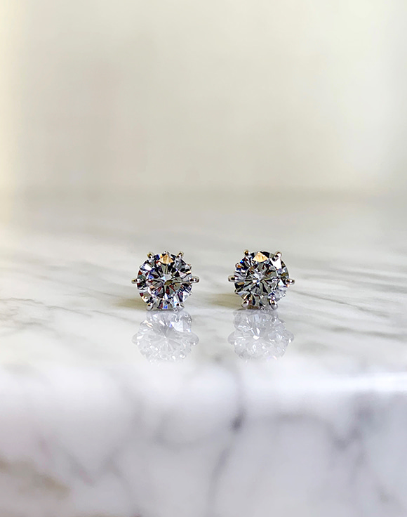 [Shortbutstunning] Diamond Simulant Earrings 공구