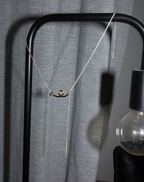 [Bitter Sweet]Z-86 Nail I necklace